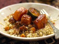 Quinoa with Moroccan Sauce