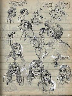 Robert Crumb c.1970 sketchbook