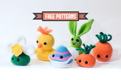 Amigurumi Easter Bust Collection