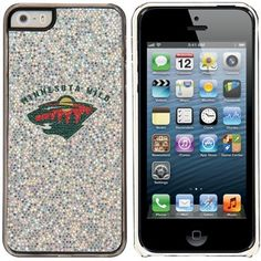 Minnesota Wild Silver iPhone 5/5s Bling Thinshield Snap-On Case --- too bad I don't have an iphone
