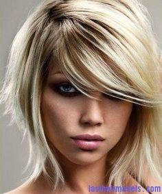 Medium asymmetric hairstyles: Best for styling hair! | Last Hair Models , Hair Styles