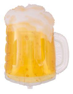 Transparenter Bier Ballon für Kerle | Ballongruesse.de