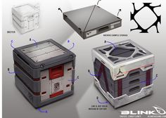 sci fi crate - Google Search