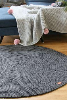 Die 12 besten Bilder von Teppich rund | Crochet carpet, Crochet ...
