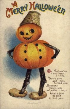 Vintage Halloween. I love pictures like this, I print them out in different sizes and put them in picture frames to use as decorations for Halloween