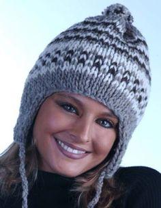 Free Loom Pattern kbEarflapHat Loom-Knit Earflap Hat : Lion Brand Yarn Company