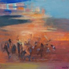 Deolinda Fonseca Trance - 145)19 2011 Oil x Canvas 50 cm x 50 cm
