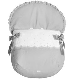 TAYLOR COLLECTION CAR SEAT FOOTMUFF
