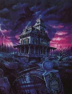 Dark Fantasy Mansion