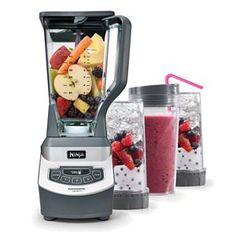 Ninja Professional Blender With Single-Serve Function