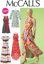 Image result for wrap dress sewing pattern