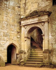 """pagewoman: """" Old Wardour Castle,Tisbury, Wiltshire, England """" – architecture Beautiful Castles, Beautiful Buildings, Beautiful Places, Chateau Medieval, Medieval Castle, Grand Stairway, Fachada Colonial, Castle Ruins, Architecture Old"""