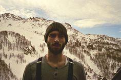 Mountain selfie #beard #facialhair #stash #men #rugged #manly #woodsman #lumberjack