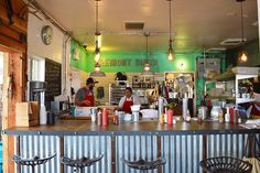 The Fremont Diner in Sonoma, California. From the Spotted SF blog.