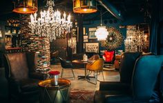 Timothy Oulton, daring furniture & interiors company has created an inspiring office where modern, industrial accents mix with a playful, vintage British spirit