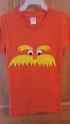 Diy lorax shirt favoritecharacterday crafty pinterest lorax lorax shirt solutioingenieria Image collections