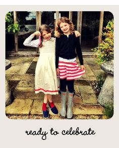 Jools Oliver's Jubilee Blog | Articles | Gurgle-interesting style, not sure eldest age 6 would wear either.