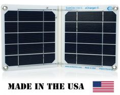 Father's Day gift idea | solar charger for iPad, iPhone, Samsung, #madeinUSA #Fathersday