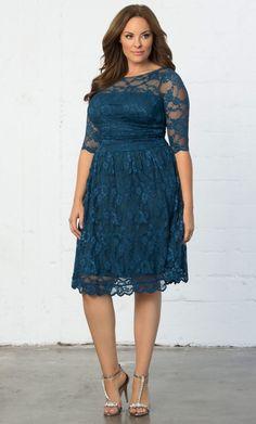 3266aad620a Luna Lace Dress. Plus Size ...