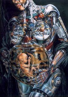 human robot...anatomical breakdown