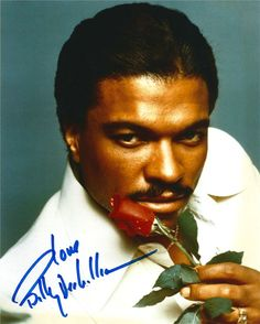 BILLY DEE WILLIAMS SEXY WITH ROSE - I had this poster on my closet door. It was the last thing I saw every night. It was an Essence Magazine cover. Loved it. Black Actors, Black Celebrities, Pretty Men, Beautiful Men, Tom Hardy Actor, Billy Dee Williams, Vintage Black Glamour, Look Into My Eyes, Artist