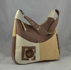 Kabelky - taška Gabi hnedá XL -