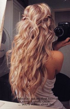 Lovely loose curls