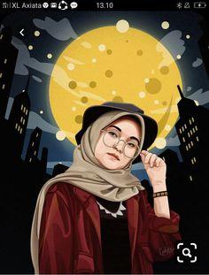 Cartoon Pics, Girl Cartoon, Cartoon Art, Caricature, Love Cartoon Couple, Doraemon Cartoon, Islamic Cartoon, Hijab Cartoon, Friend Anime
