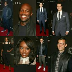 "#BillyBrown, @mattmcgorry, @ajanaomi_king and @conradricamora were in attendance at the premiere  of season three of ""How To Get Away With Murder"" on Tuesday (20) in Los Angeles. #HTGAWM  • • • • • • • • • • • • • • • • • • • • • • • • • • • • • #BillyBrown, #MattMcGorry, #AjaRei e #ConradRicamora estavam presentes na estréia da terceira temporada de ""How To Get Away With Murder"" nesta terça-feira (20), em Los Angeles. #HTGAWM"