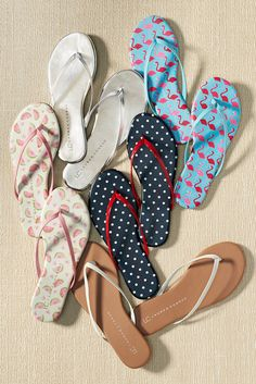 It's sunny and warm somewhere, right? These LC Lauren Conrad flip-flops are so cute you might need them all. Find pedi-ready flip-flops and sandals at Kohl's.