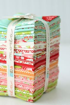 scrumptious fabrics by Bonnie & camille. In stores  Oct 2013