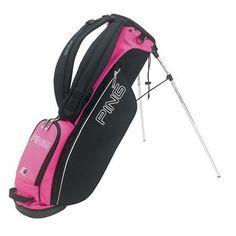 Ping L8 Golf Stand Bag Black/Pink