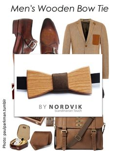 Scandinavian Design. Wood Bow tie. Mens Fashion. www.bynordvik.etsy.com Mens Gift Ideas.