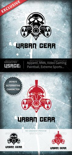 Urban Gear - Logo Design Template Vector #logotype Download it here: http://graphicriver.net/item/urban-gear/4486486?s_rank=588?ref=nesto