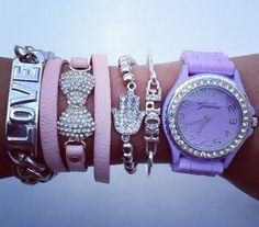 Pastel Love Watch Set