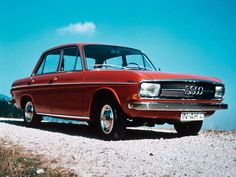 Car, Oldtimer, Audi 60, about 1970