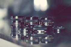 Vintage Lenses by ZedProMedia on Creative Market