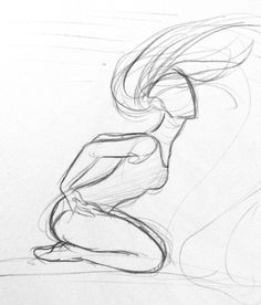 Yenthe Joline Art — Some dancer sketches. For some I used some photo's. Girl dancing back bend long hair leotard ballet dance Click the link to read Still gonna be in my board Pencil Art Drawings, Art Drawings Sketches, Cute Drawings, Anatomy Sketches, Drawing Base, Figure Drawing, Painting & Drawing, Body Painting, Dancing Drawings