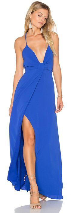 SAYLOR Misty x REVOLVE Dress #cobalt #blue