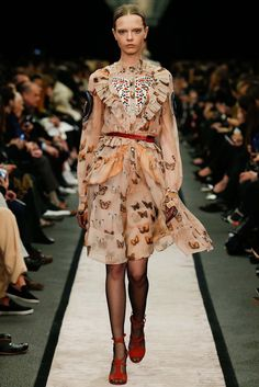 A Fashionable Ode to Lepidoptera in Honor of Vladimir Nabokov's Birthday:  Givenchy Fall 2014