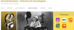 GeneaPodcasters' list of resources can help genealogy societies learn how to podcast. #genealogy
