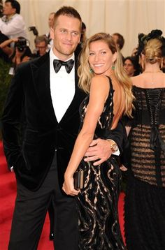 Tom & Gisele @ The Met Costume Institute Benefit Gala May 5, 2014. Hello ... of course they look HOT?? Moving on ...