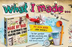 Made By Dad BOOK - 5 Star Amazon Rating & fun website