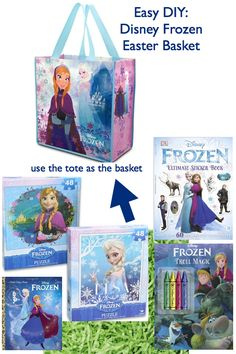 DIY:  Easy Disney Frozen Easter Basket