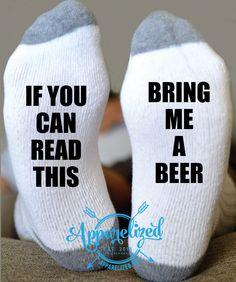 Beer Socks Talking Socks - Wine Socks