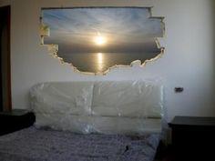Trompe L'oeil Stencils   Idee per arredare con il trompe l'oeil: ingrandire gli spazi di casa ...