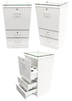 Posh Portable Salon Station & Mirror - Keller International - 1 ...