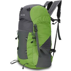 Kalusi Large 35l Lightweight Waterproof Hiking Daypack ,Foldable Outdoor Backpack >>> Huge discounts available  : Womens hiking backpack