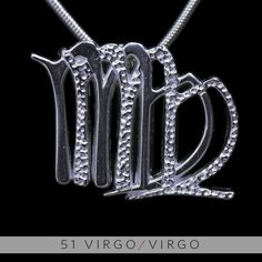 The Virgo/Virgo Unity Pendant is a beautiful and meaningful way to share and express the love between a Virgo and a Virgo. Unity Pendants are cast in Bronze with a thick Sterling Finish and come with a SIlver finished necklace. Also presented in a truly unique two metal (pure silver and antique b...