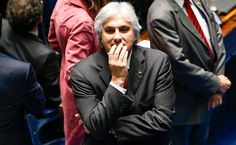 Delcídio abre a boca perante o juiz Marcelo Bretas